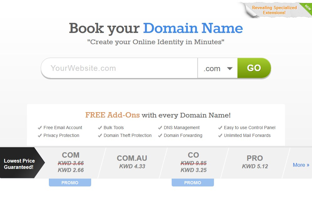 Kuwait Domain Registration